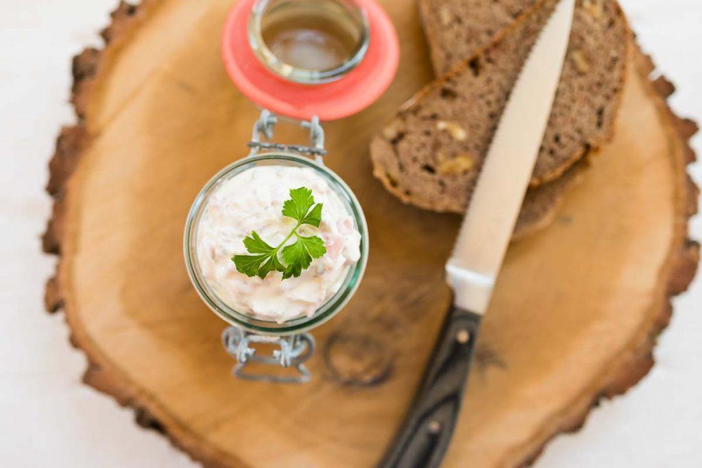 Schinken Kren Aufstrich casual cooking österreichischer food blog Aufstrich Dip