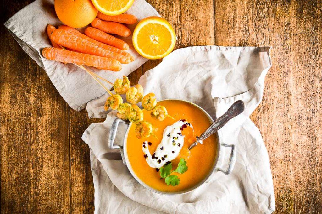 Karotten Orangen Suppe casual cooking österreichischer food blog