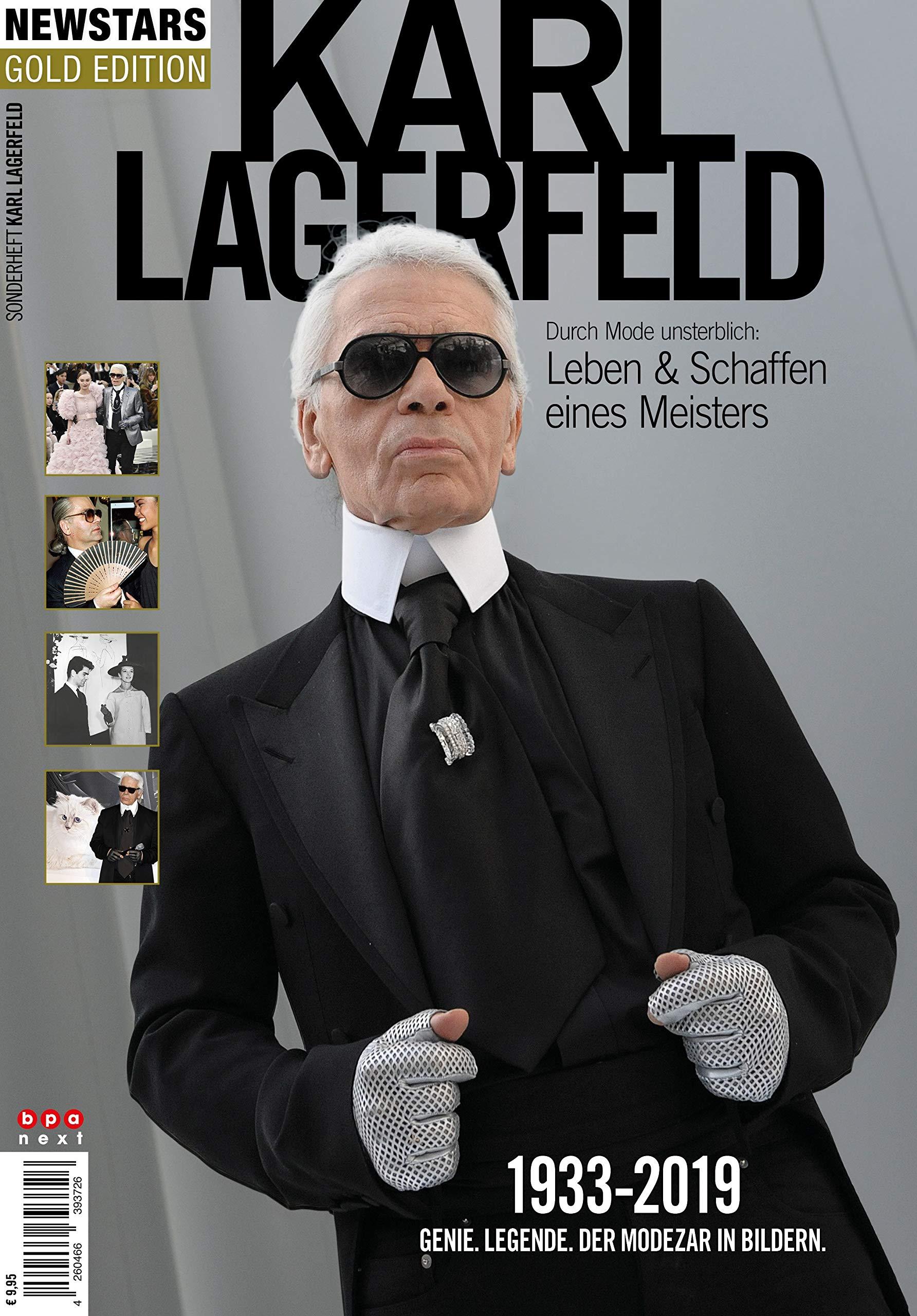 Karl Lagerfeld - Durch Mode unsterblich: Leben & Schaffen eines Meisters