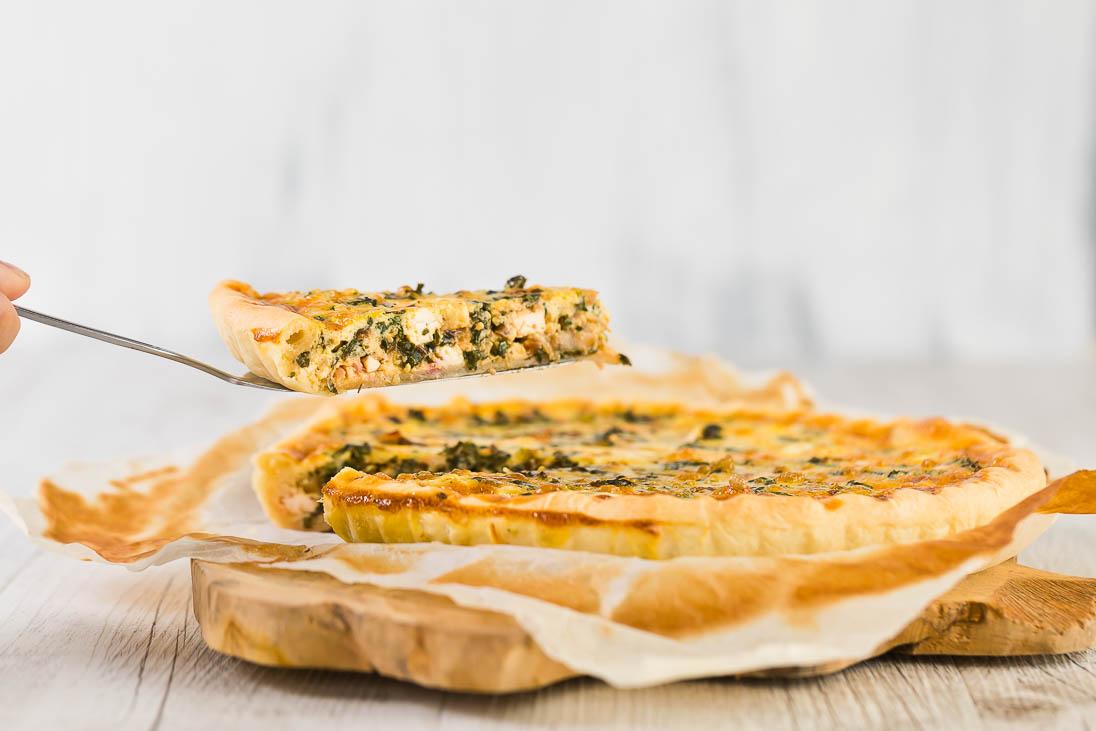 Quiche mit Schafskäse und Mangold casual cooking österreichischer food blog