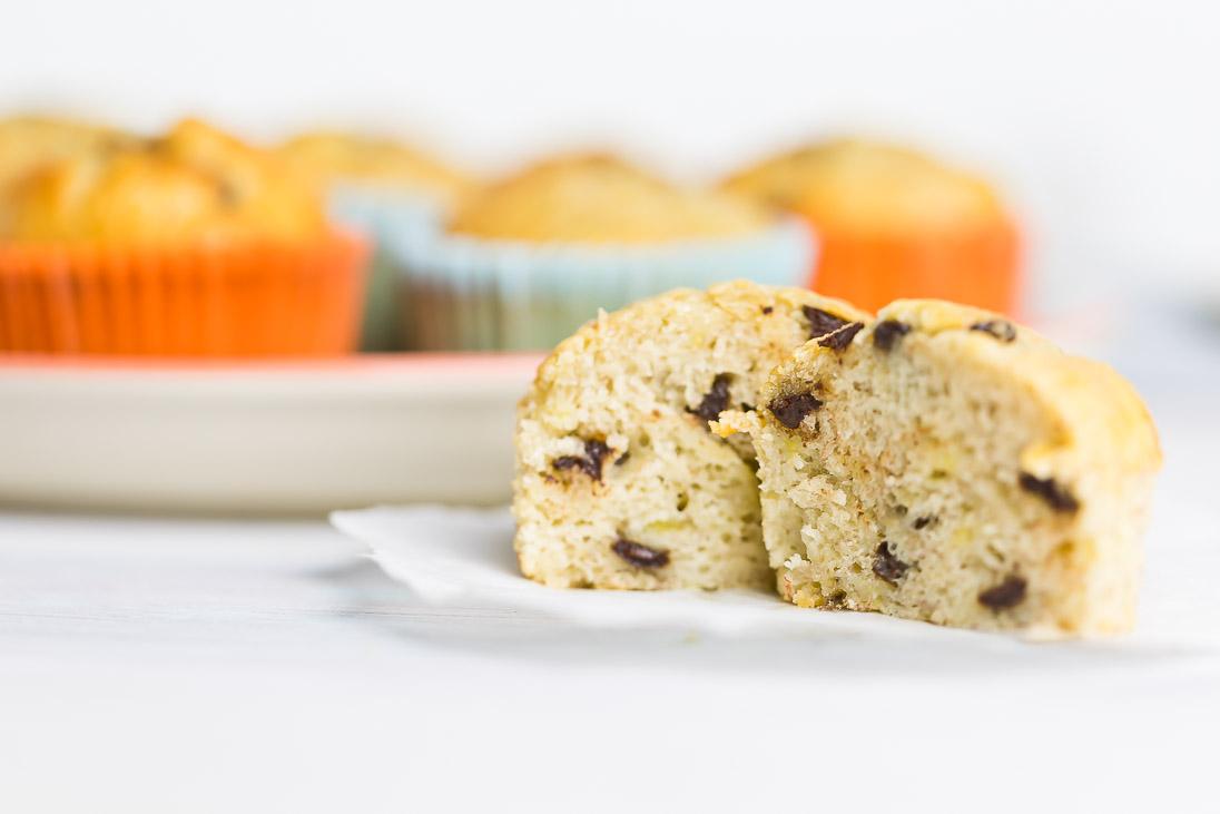 Bananenmuffins schnell und saftig vegetarisch casual cooking österreichischer food blog