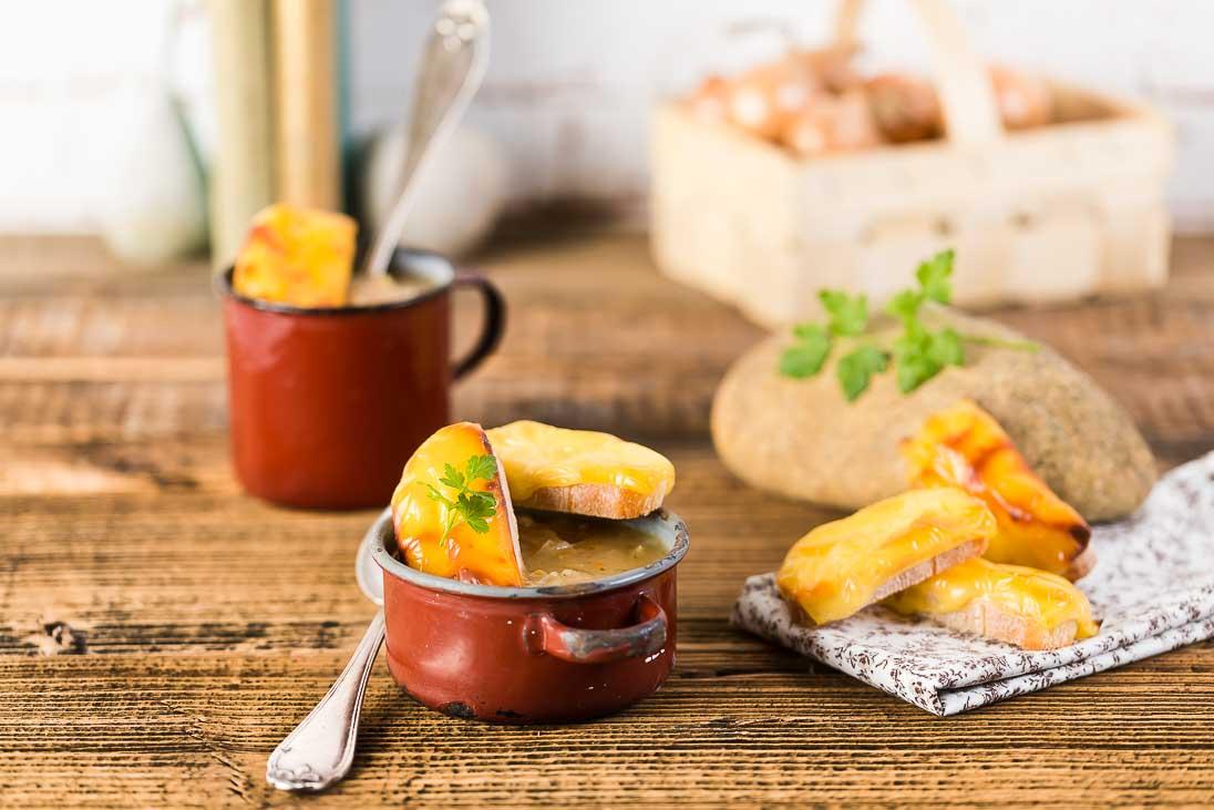 Französische Zwiebelsuppe casual cooking österreichischer food blog